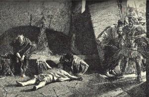 Kaempfer. Death of Nero.