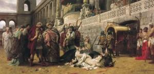 Revelation 13:18 A Pretrist commentary antichrist Roman beast, 666 Gematria Nero Caesar