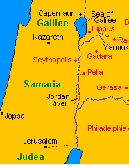 Jerusalem to Pella