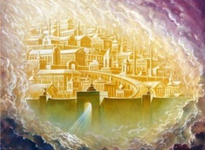 The New Jerusalem resembles descriptions of heaven in near-death experiences.