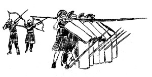 Roman phalanx Daniel 7: A Preterist Commentary