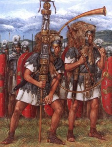 Revelation 13:2 Commentary-standard bearers of the Roman beast