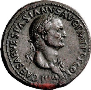 Revelation 13:16-17 Preterist commentary the mark of the beast charagma vespasian coin