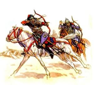 seljuk turks during the battle of Gog and Magog