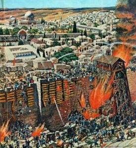 siege of jerusalem, 1st crusade Gog and Magog