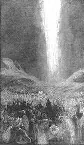 The pillar of smoke by day and fire by night that guided the Hebrew slaves during the Exodus was another manifestation of the Glory Cloud.