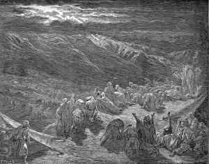 Gustave Dore The Giving of the Law Upon Mt. Sinai