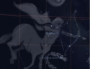 Sagittarius, the centaur, and Corona Australis, the crown. Revelation 9 A Preterist Commentary