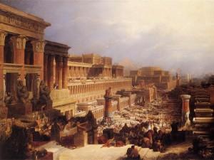 Revelation 15 commentary, the exodus