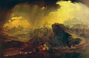 The smoke of the erupting Vesuvius darkened the sun according to Cassius Dio.