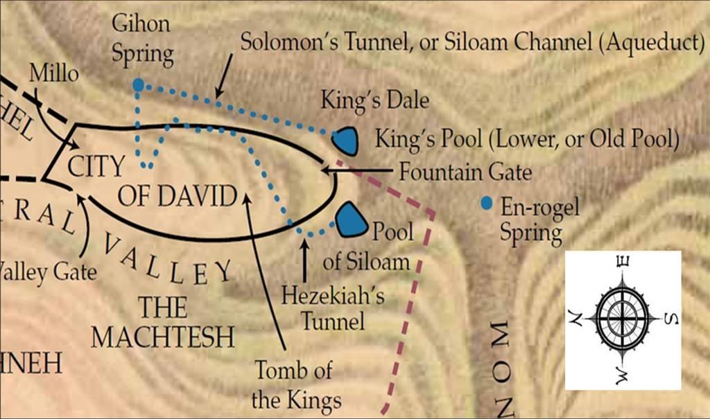 pools of Jerusalem deuteronomy 28:22 fulfilled preterism