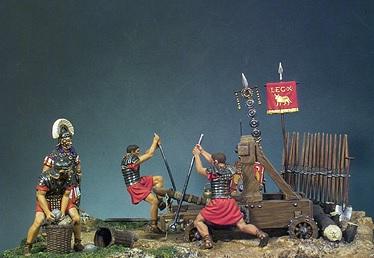 First century Roman catapult.