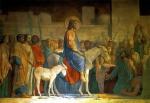 triumphal entry Ezekiel 46:1-8, 12 A Preterist Commentary, Ezekiel 46:1-8, 12 fulfilled! Explain Ezekiel 46:1-8, 12.