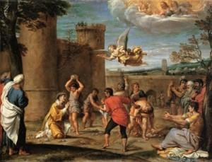 The Stoning of St. Stephen Matthew 23:33-35 commentary preterism