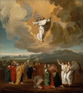Copley, John Singleton. Ascension. 1775. Museum of Fine Arts, Boston.
