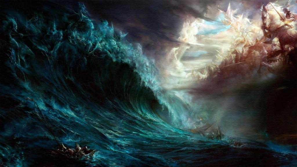 luke 6:48 flood