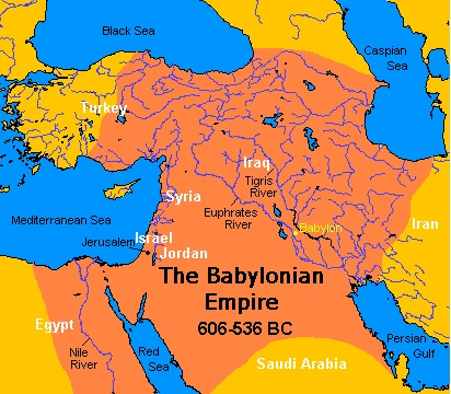 babylonian-empire-map